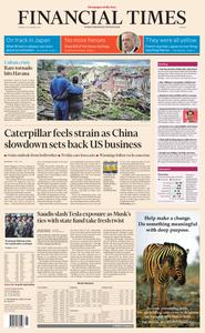 Financial Times Europe – 29 January 2019