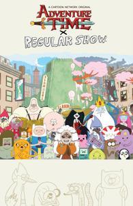 Adventure Time - Regular Show (2018) (Digital) (Bean-Empire
