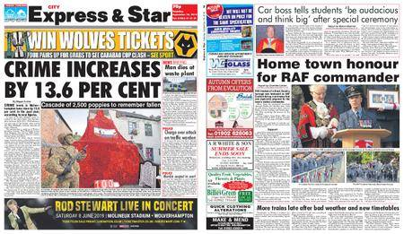 Express and Star City Edition – September 18, 2018