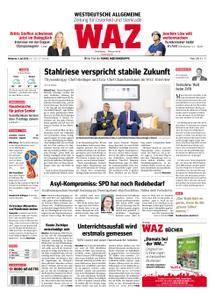 WAZ Westdeutsche Allgemeine Zeitung Oberhausen-Sterkrade - 04. Juli 2018