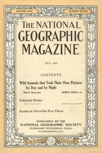 National Geographic 1913 Augst