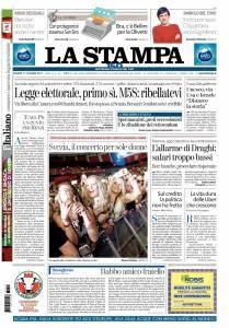 La Stampa Imperia e Sanremo - 13 Ottobre 2017