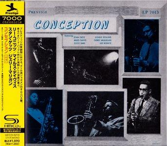 Miles Davis, Stan Getz, Lee Konitz, Zoot Sims - Conception (1951) {2013 Japan Prestige 7000 Chronicle SHM-CD HR Cutting Series}