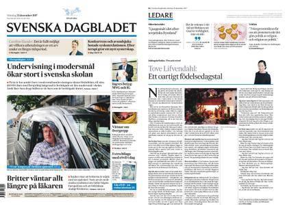Svenska Dagbladet – 25 december 2017