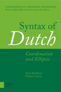 Syntax of Dutch: Coordination and Ellipsis (Comprehensive Grammar Resources)  by Hans Broekhuis (Author), Norbert Corver (Autho