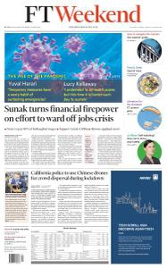 Financial Times UK - March 21, 2020
