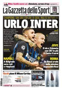 La Gazzetta dello Sport – 19 settembre 2018