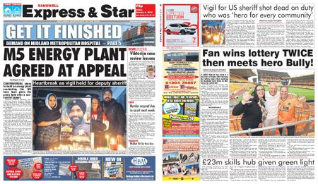 Express and Star Sandwell Edition – October 04, 2019