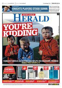 Newcastle Herald - August 16, 2018