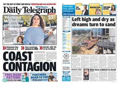 The Daily Telegraph (Sydney) – July 20, 2020