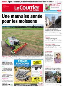 Le Courrier de l'Ouest Angers – 20 juillet 2020