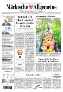 Neue Oranienburger Zeitung - 20. September 2017