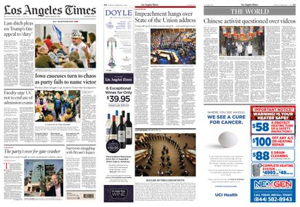 Los Angeles Times – February 04, 2020