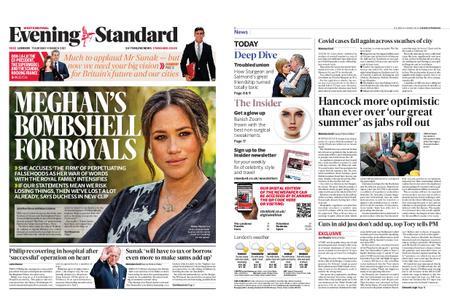London Evening Standard – March 04, 2021