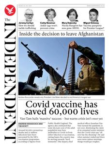 The Independent - 30 July 2021