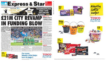 Express and Star City Edition – October 25, 2019