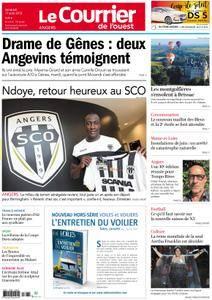 Le Courrier de l'Ouest Angers - 17 août 2018