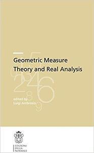 Geometric Measure Theory and Real Analysis