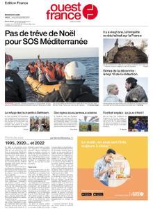 Ouest-France Édition France – 26 décembre 2019