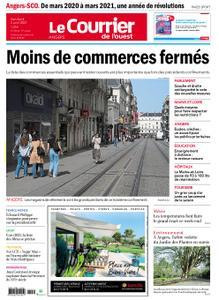 Le Courrier de l'Ouest Angers – 02 avril 2021