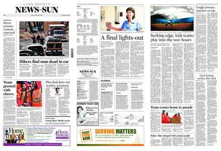 Lake County News-Sun – March 19, 2018
