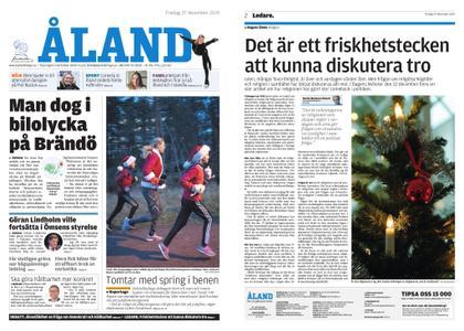 Ålandstidningen – 27 december 2019