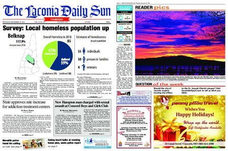 The Laconia Daily Sun – December 20, 2018
