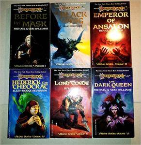 Dragonlance: Villains series by Michael & Terri Williams, Mary Kirchoff, Douglas Niles, Ellen Dodge Severson, Jeff Grubb