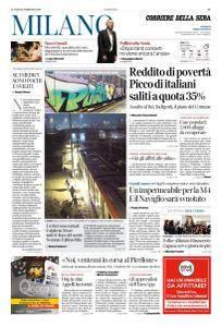 Corriere della Sera Milano - 26 Febbraio 2018