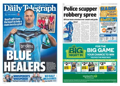 The Daily Telegraph (Sydney) – July 10, 2019