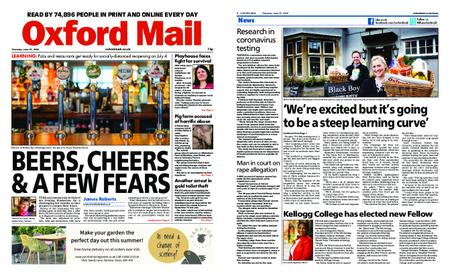 Oxford Mail – June 25, 2020