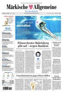 Märkische Allgemeine Westhavelländer - 31. Juli 2018