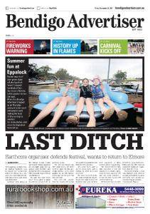 Bendigo Advertiser - December 29, 2017