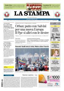 La Stampa Imperia e Sanremo - 1 Maggio 2019