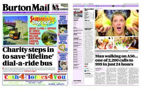 Burton Mail – August 29, 2017