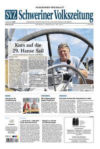 Schweriner Volkszeitung Hagenower Kreisblatt - 07. August 2019