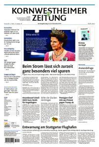 Kornwestheimer Zeitung - 22. Dezember 2018