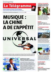 Le Télégramme Guingamp – 07 août 2019