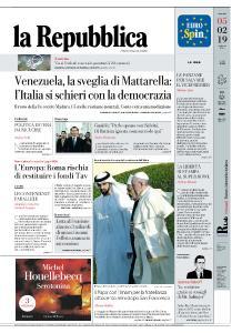 la Repubblica - 5 Febbraio 2019