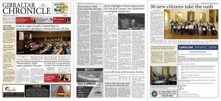 Gibraltar Chronicle – 09 October 2019