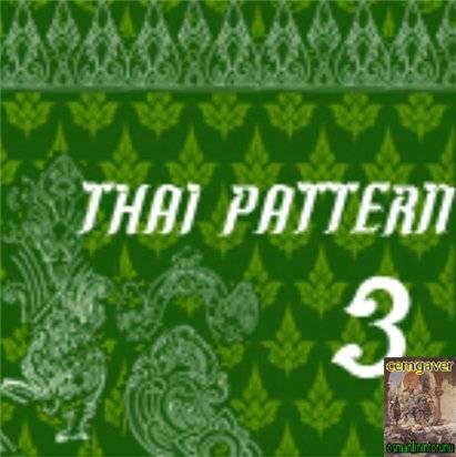 Thai Pattern 3 Brushes