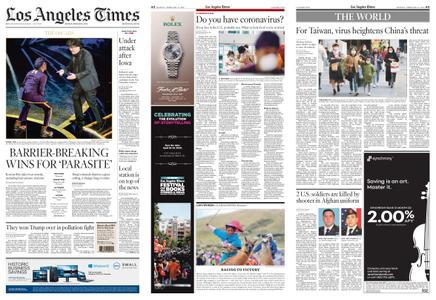 Los Angeles Times – February 10, 2020