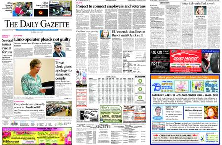 The Daily Gazette – April 11, 2019