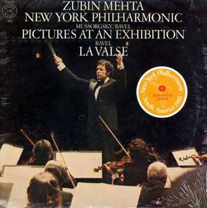 Zubin Mehta & New York Philharmonic - Pictures At An Exhibition (1980) US 1st Pressing - LP/FLAC In 24bit/96kHz