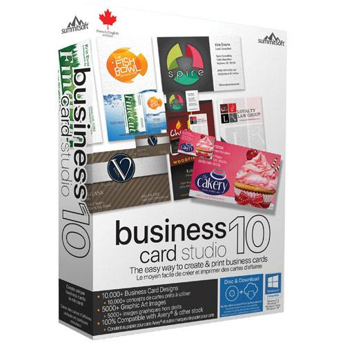 Summitsoft Business Card Studio Deluxe 10 v5.0.2 Portable