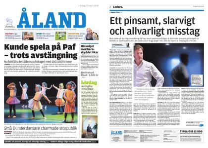 Ålandstidningen – 23 mars 2019