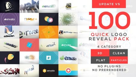 Quick Logo Reveal Pack V5 - Project for After Effects (VideoHive) 10399896