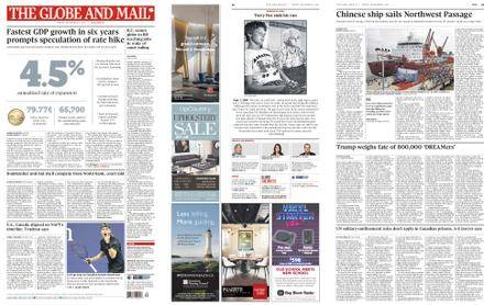 The Globe and Mail – September 01, 2017