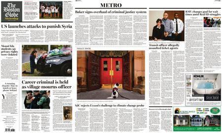 The Boston Globe – April 14, 2018