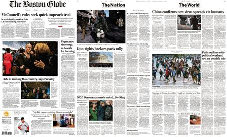 The Boston Globe – January 21, 2020
